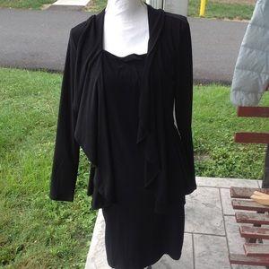 Nina Leonard dress.